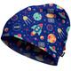 HAD Printed Fleece Nakrycie głowy Dzieci niebieski/kolorowy